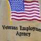 A symbol for our Veterans Employment Agency, the independent, for-profit company housed on our campus that produces headstone inscriptions for various veterans cemeteries across the nation.